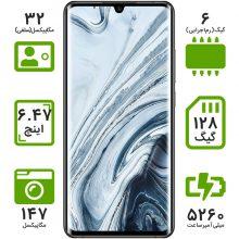 گوشی موبایل شیائومی مدل Mi Note 10 M1910F4G دو سیم کارت ظرفیت 128 گیگابایت